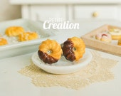Donut Collection - Honey Cruller Donuts (Stud Earrings)