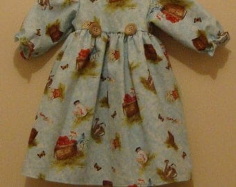 Long dress for American Girl or 18 inch doll