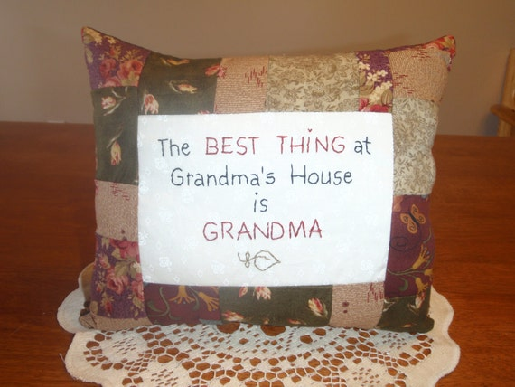 Best thing at Grandma's House pillow