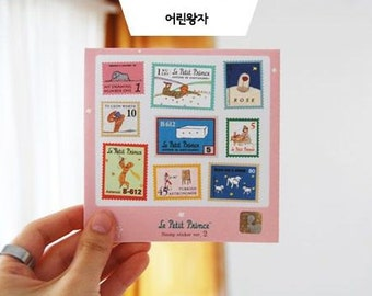le petit prince stamp stickers
