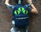Reserved for KIT:  TRICERRRROPS Monsterpak monster backpack