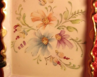PORCELAIN HANDPAINTED TRAY