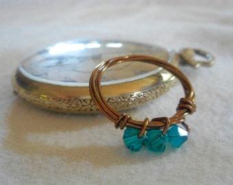 Swarovski Beaded Ring