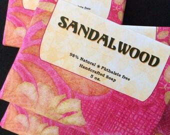 Sandalwood - Handcrafted Sandalwood Scented Soap
