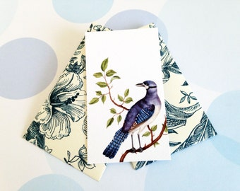 Gift Enclosure Card, Mini Cards and Envelopes, Set of 10