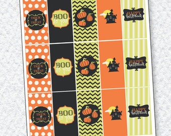 Boo To You Halloween Party PRINTABLE (Instant Download) by Love The Day