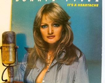 "ON SALE Bonnie Tyler Vinyl Record Album LP Vintage 1970s Country Rock and Roll Female Vocalist Ballads ""It's A Heartache"" (1978 Rca)"
