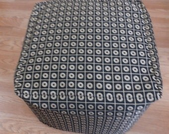 Custom Made Slipcover for your CUBE ,Ottoman , Stool or Bench - Comes in Lots of different Fabrics