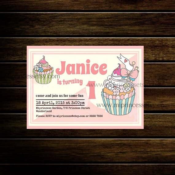 6th birthday invitation wording sweet cupcake birthday invitation for
