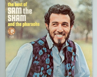 Sam the Sham, Best of Sam the Sham and the Pharaohs, Vintage Vinyl Record Album Wooly Bully, Li'L Red Riding Hood, MGM Gatefold LP SE-4422