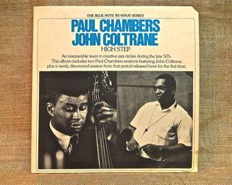 Paul CHAMBERS /John COLTRANE - High Step - 1975 Vintage Vinyl Gatefold Record Album