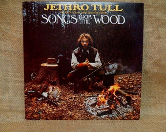 Jethro Tull - Songs From the Wood - 1977 Vintage Vinyl Record Album