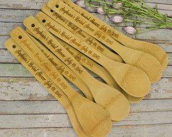 Bulk Order for Bamboo Spoons, Wedding Shower, Bridal Shower, Kitchen Shower, Chili Cook-Off SP-BBK
