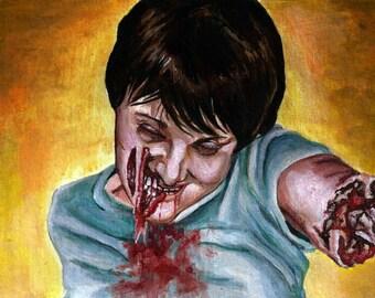 """5x7"""" Custom Zombie Portraits"""
