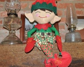 On Sale Now  Ultimate Handmade  Boy Elf Doll~This Elf Doll is so Adorable you will Fall in Love with Him. Ready to Ship