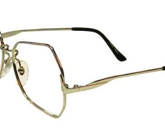 Vintage 1980's Silver Wire Frame Eyeglasses Never Used