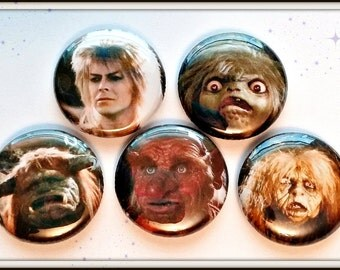 "Labyrinth 1"" Button Choose Your Own"