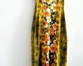 Sale Vintage 1960's Hawaiian Dress