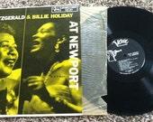 Ella Fitzgerald & Billie Holiday at Newport Record (Vinyl)