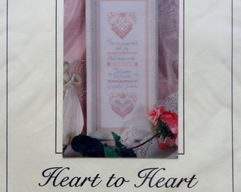 The Victoria Sampler   HEART TO HEART   Sampler   Class Project   Thea Dueck   Counted Cross Stitch Pattern   Chart