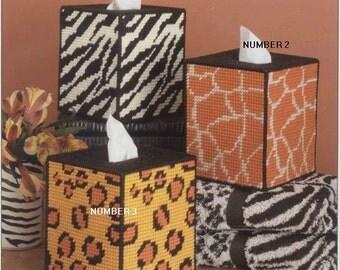 Safari Tissue Box Covers