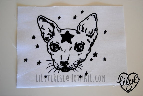 Star Cat Patch