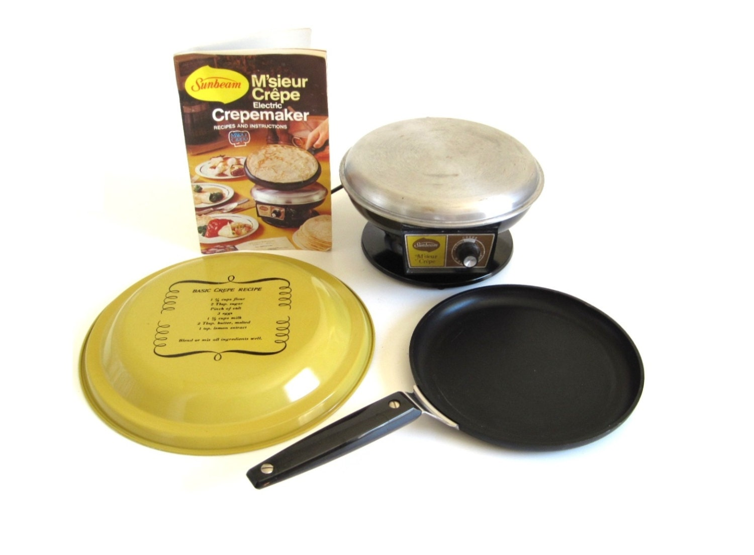 Double Sided Electric Frying Pan