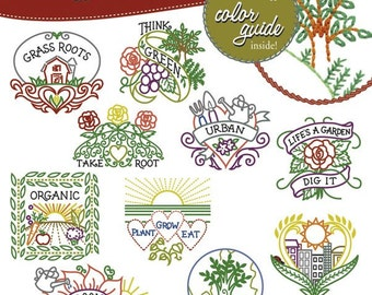Urban Garden, Embroidery Transfer, Embroidery Pattern, Stitchers Revolution, Hand embroidery, Pattern