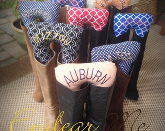 Boots Up by Endear Me Collegiate Boot Stuffers Handmade Boot Trees CUSTOM ORDER