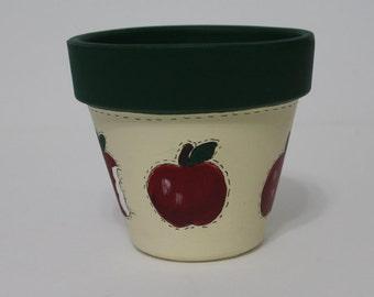 """Flower Pot """"Apple Apple"""""""