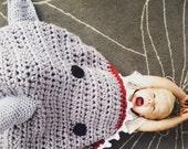 Sharknado Shark Attack Blanket Multiple Sizes