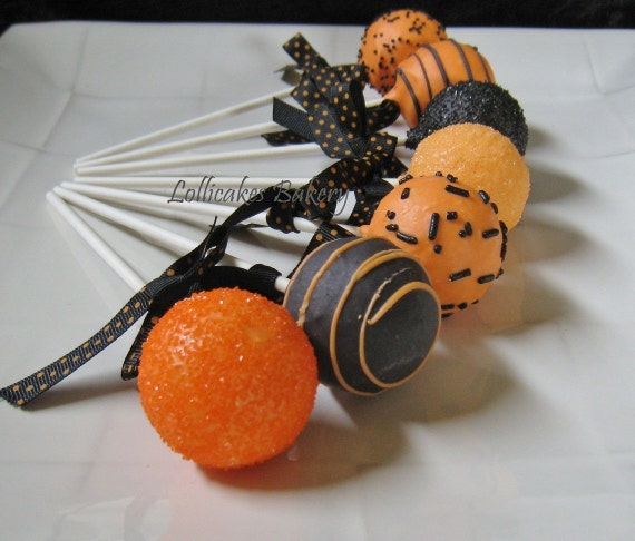 Custom order for Halloween Cake Pops