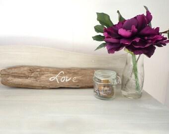 "Driftwood ""Love"" Sign"