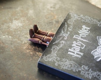 Harry Potter book marker. Quidditch bookmark