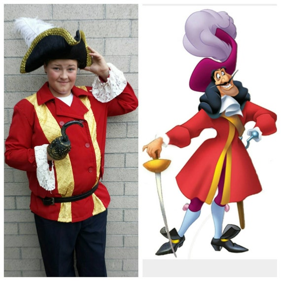 Upcycled costume de peter pan capitaine crochet par - Peter pan et capitaine crochet ...