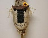 Primitive Scarecrow, Scarecrow Make Do Bobbin, Fall Scarecrows, Halloween Decorations