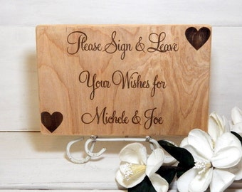 Sign, Personalized Sign, Guest Book Sign, Rustic Sign, Sign For Guest Book