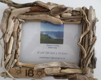 Driftwood picture frame, 18, gift idea