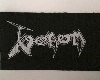 VENOM PATCH - On Black Canvas
