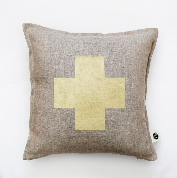 Decorative Pillows With Crosses : Switzerland cross pillow cover pillow cover decorative