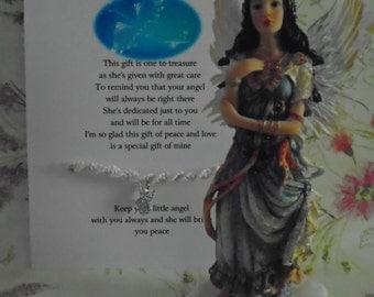 Angel Of Peace Friendship Bracelet