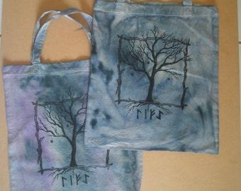 Tree of Life calico bag.