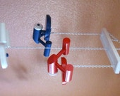 USS Starship Enterprise Ceiling Mobile - Star Trek - Red, White and Blue