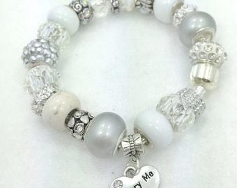 Marry Me Charm Bracelet