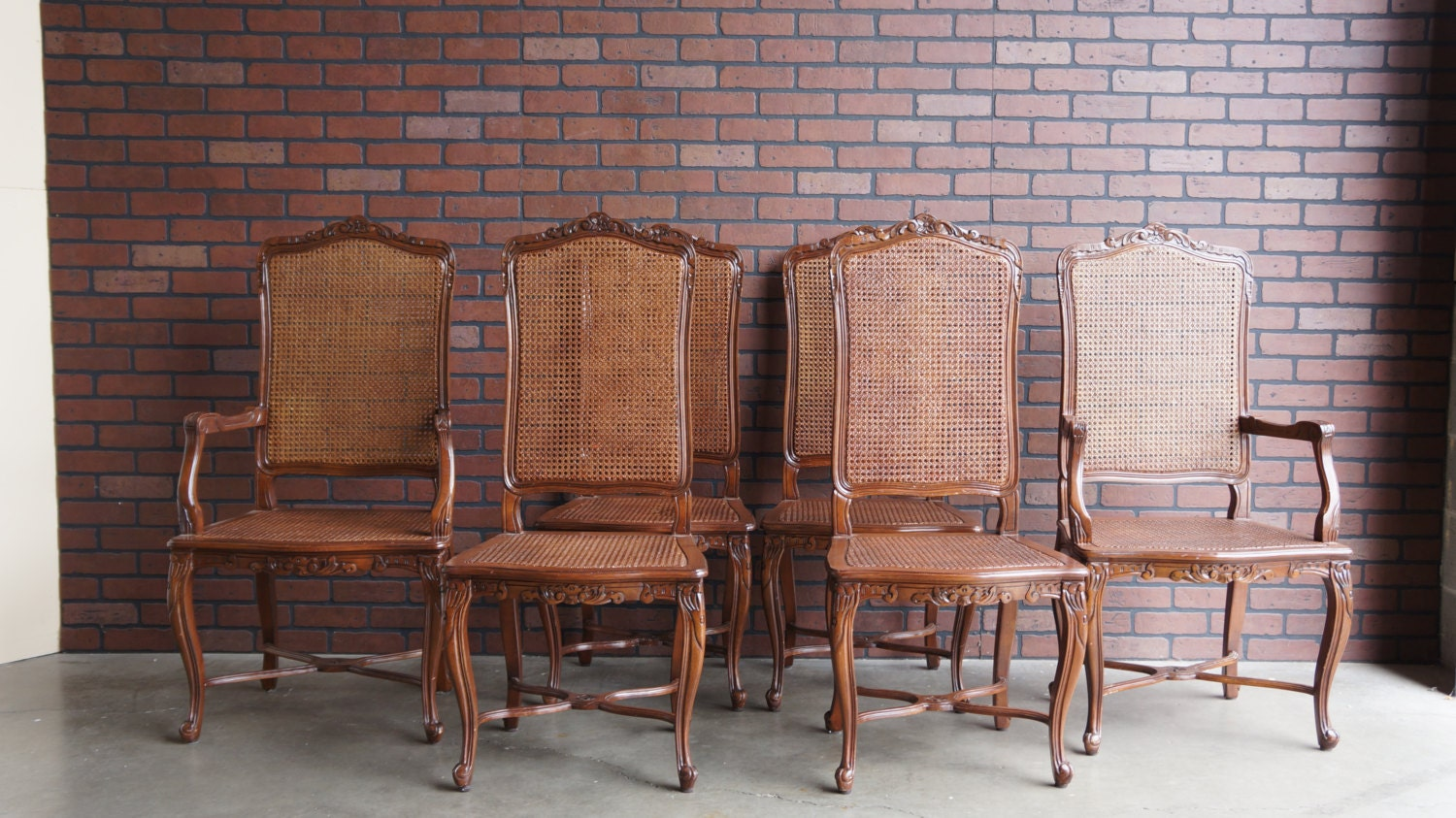 French Provincial Dining Chairs Cane Dining Chairs French