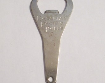 Canadian Pacific Hotels Railroad Bottle Opener