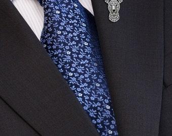 Pumi brooch - sterling silver