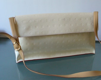 Arcadia Made in Italy Patent Leather Shoulder Bag