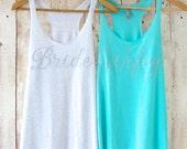 Bride Tank Top. Silver Glitter Bride Shirt. Bridesmaid Tanks. Bridesmaid Shirts. Bride Shirt. Maid of Honor Tank Bachelorette Party Shirts