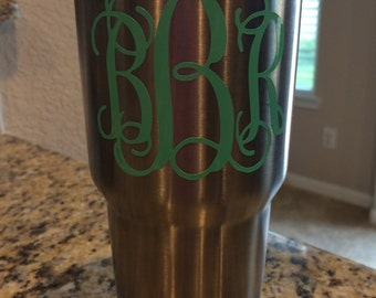 5 or More MuLTiPLe SiZeS - Personalized Monogram - Great wedding, shower, birthday, Christmas or baby gift - Apply them almost anywhere!